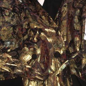 Zara Other - ONE LEFT! HP!💥RARE! Zara Silk Jacquard Kimono NWT